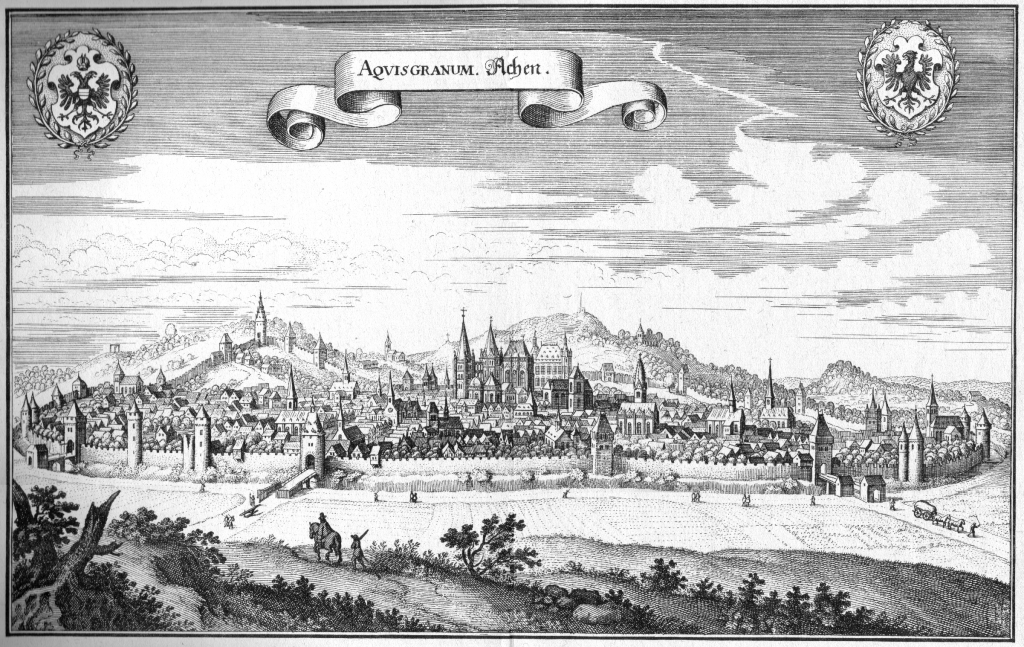 Bad Aachen in 1646.