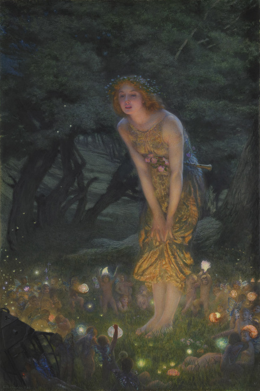 Edward_Robert_Hughes_-_Midsummer_Eve_(1908c)