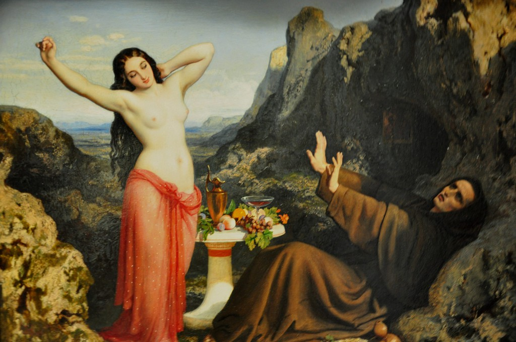 temptation of st hilarion