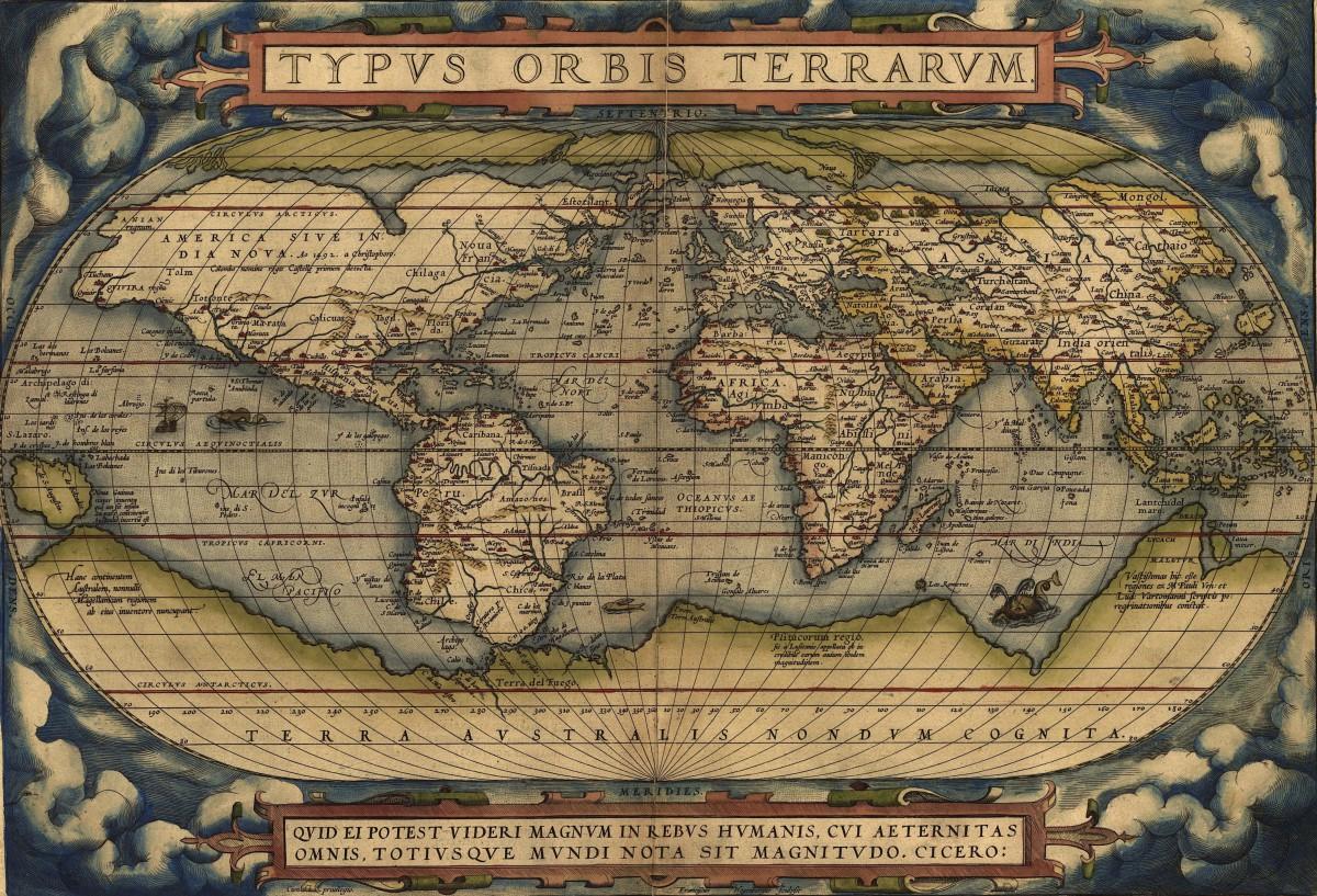 A Little (Weird) World Geography